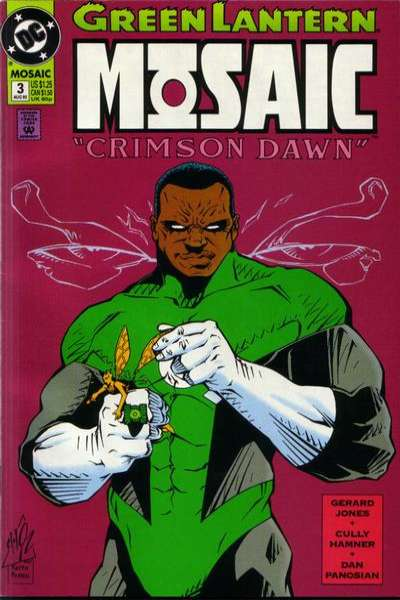 Green Lantern: Mosaic #3 comic books for sale