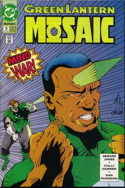 Green Lantern: Mosaic #5 comic books for sale