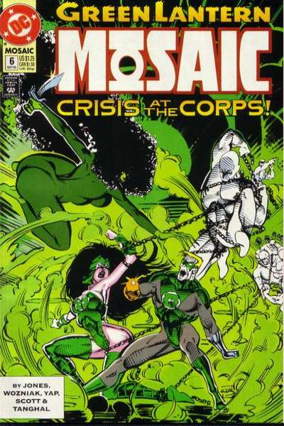 Green Lantern: Mosaic #6 comic books for sale