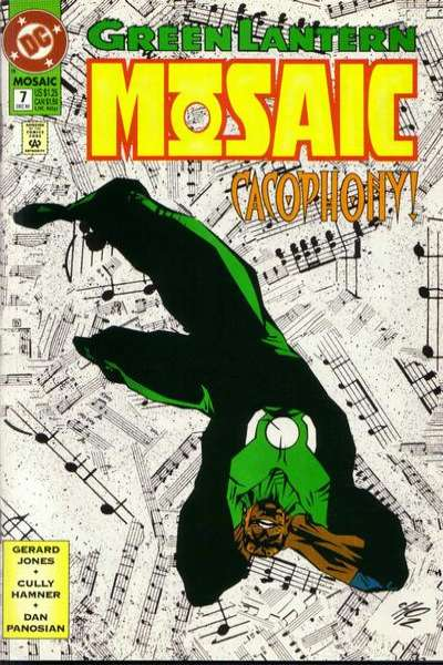 Green Lantern: Mosaic #7 comic books for sale