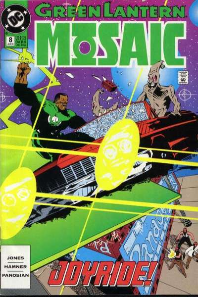 Green Lantern: Mosaic #8 comic books for sale