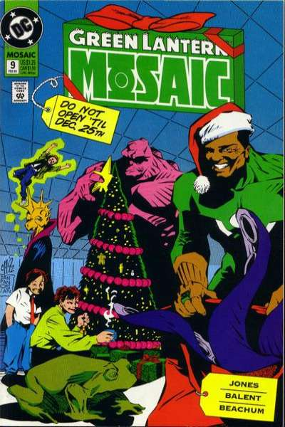 Green Lantern: Mosaic #9 comic books for sale