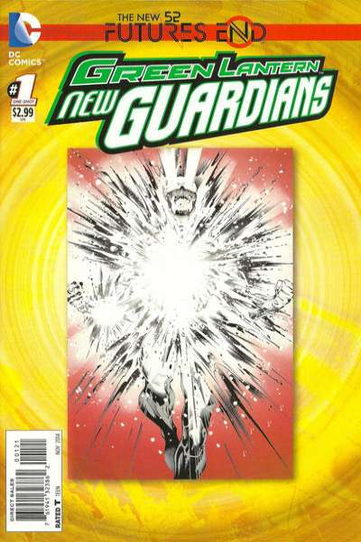 Green Lantern: New Guardians: Futures End #1 comic books for sale