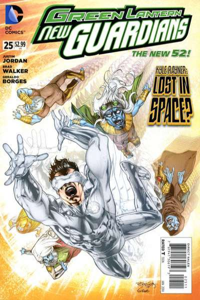 Green Lantern: New Guardians #25 Comic Books - Covers, Scans, Photos  in Green Lantern: New Guardians Comic Books - Covers, Scans, Gallery