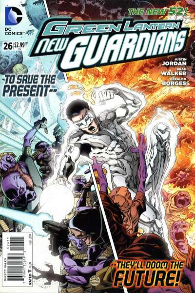 Green Lantern: New Guardians #26 comic books for sale