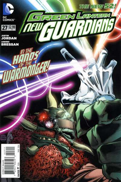 Green Lantern: New Guardians #27 comic books for sale