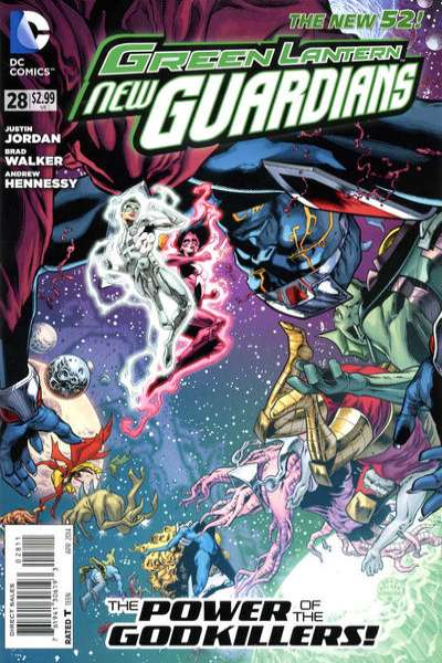 Green Lantern: New Guardians #28 comic books for sale