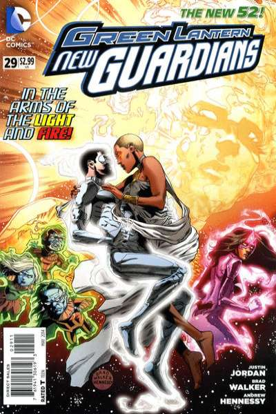 Green Lantern: New Guardians #29 comic books for sale