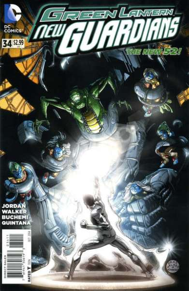 Green Lantern: New Guardians #34 comic books for sale