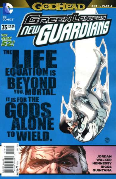 Green Lantern: New Guardians #35 comic books for sale