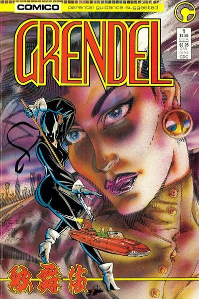 Grendel comic books