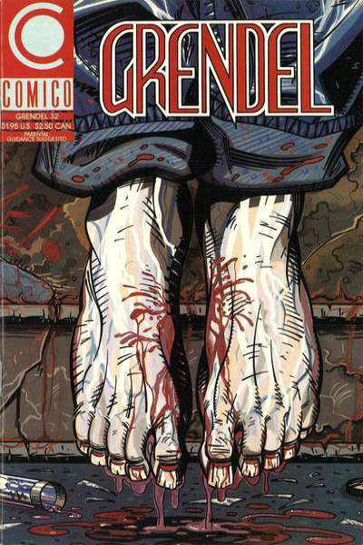 Grendel #32 comic books - cover scans photos Grendel #32 comic books - covers, picture gallery