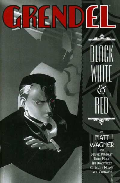 Grendel: Black White and Red #2 Comic Books - Covers, Scans, Photos  in Grendel: Black White and Red Comic Books - Covers, Scans, Gallery