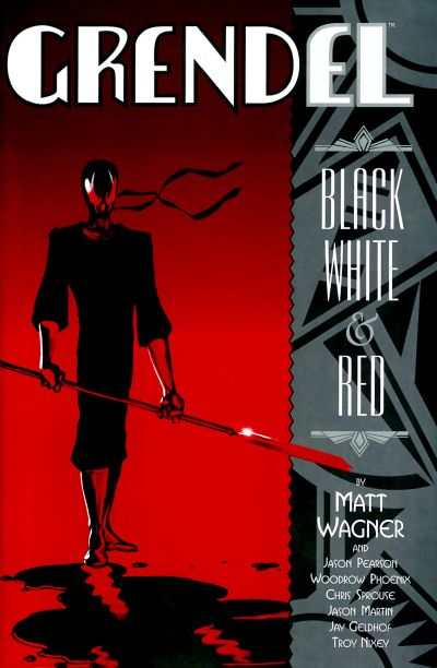 Grendel: Black White and Red #4 Comic Books - Covers, Scans, Photos  in Grendel: Black White and Red Comic Books - Covers, Scans, Gallery