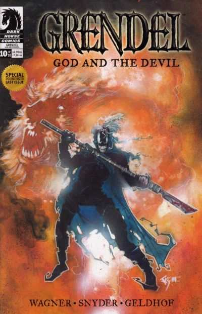 Grendel: God and the Devil #10 Comic Books - Covers, Scans, Photos  in Grendel: God and the Devil Comic Books - Covers, Scans, Gallery