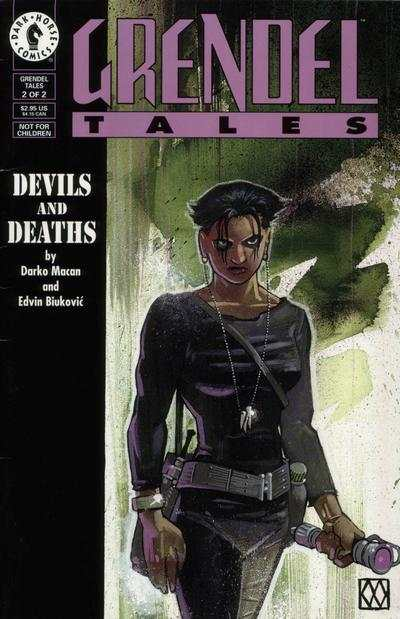 Grendel Tales: Devils and Deaths #2 Comic Books - Covers, Scans, Photos  in Grendel Tales: Devils and Deaths Comic Books - Covers, Scans, Gallery