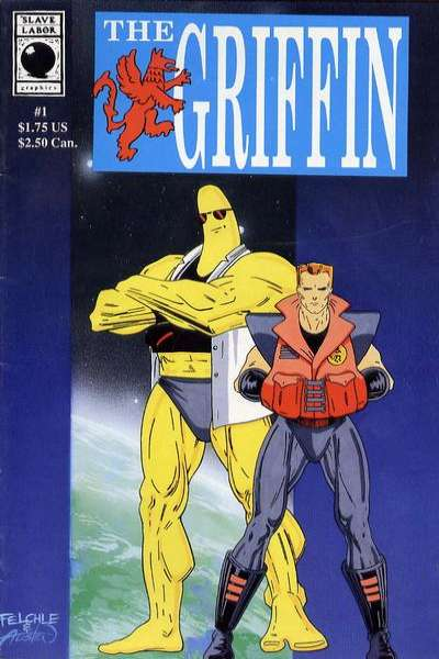 Griffin #1 Comic Books - Covers, Scans, Photos  in Griffin Comic Books - Covers, Scans, Gallery