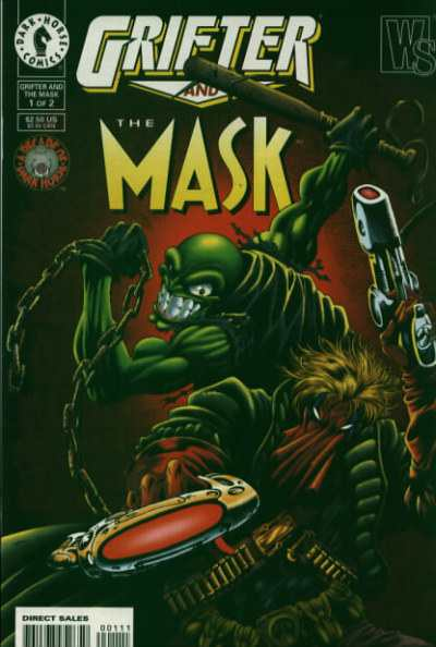 Grifter and the Mask comic books