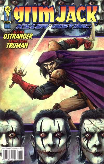 Grimjack: Killer Instinct #4 comic books - cover scans photos Grimjack: Killer Instinct #4 comic books - covers, picture gallery