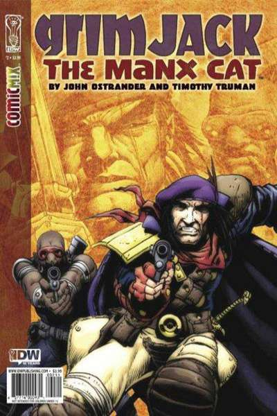 Grimjack: The Manx Cat #2 Comic Books - Covers, Scans, Photos  in Grimjack: The Manx Cat Comic Books - Covers, Scans, Gallery