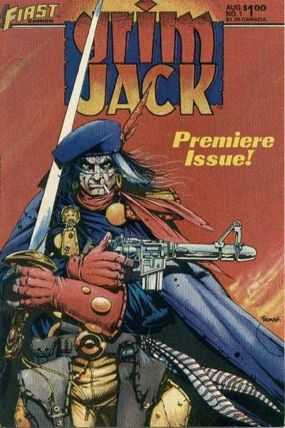 Grimjack comic books