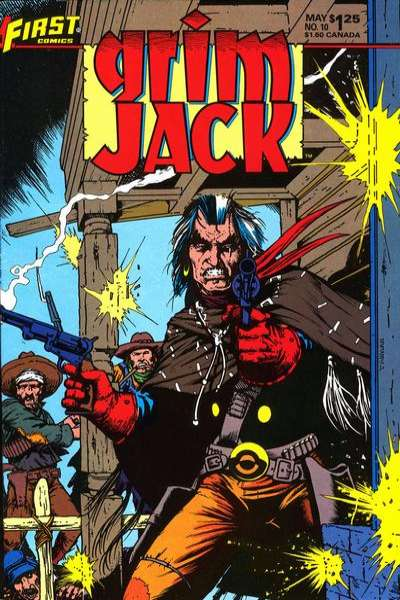 Grimjack #10 Comic Books - Covers, Scans, Photos  in Grimjack Comic Books - Covers, Scans, Gallery