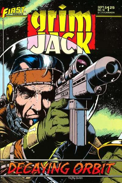 Grimjack #14 Comic Books - Covers, Scans, Photos  in Grimjack Comic Books - Covers, Scans, Gallery