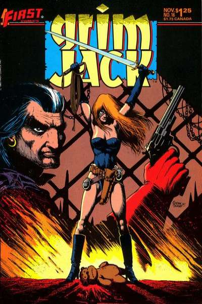 Grimjack #16 comic books for sale