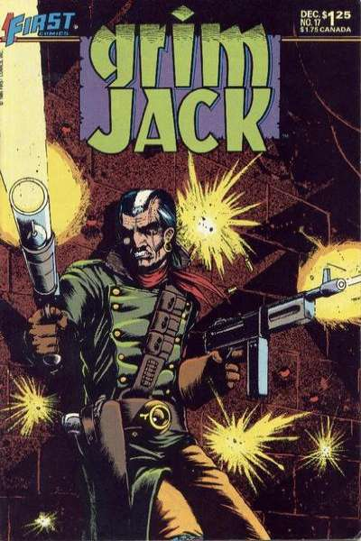 Grimjack #17 Comic Books - Covers, Scans, Photos  in Grimjack Comic Books - Covers, Scans, Gallery