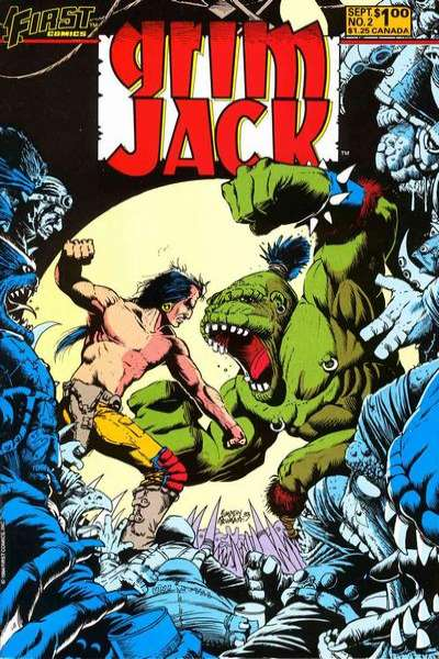 Grimjack #2 Comic Books - Covers, Scans, Photos  in Grimjack Comic Books - Covers, Scans, Gallery