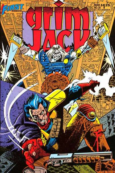 Grimjack #20 Comic Books - Covers, Scans, Photos  in Grimjack Comic Books - Covers, Scans, Gallery