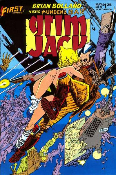 Grimjack #22 Comic Books - Covers, Scans, Photos  in Grimjack Comic Books - Covers, Scans, Gallery