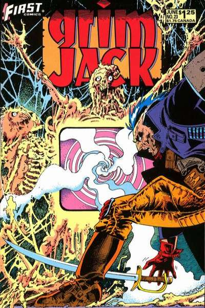 Grimjack #23 comic books for sale
