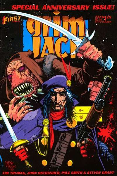 Grimjack #24 Comic Books - Covers, Scans, Photos  in Grimjack Comic Books - Covers, Scans, Gallery