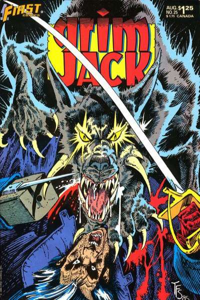 Grimjack #25 Comic Books - Covers, Scans, Photos  in Grimjack Comic Books - Covers, Scans, Gallery