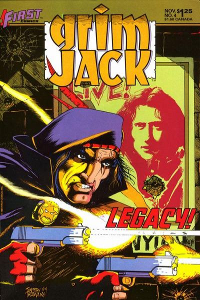 Grimjack #4 Comic Books - Covers, Scans, Photos  in Grimjack Comic Books - Covers, Scans, Gallery