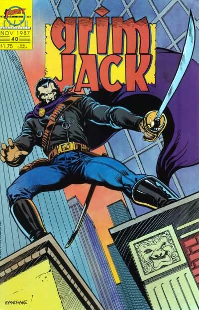 Grimjack #40 comic books - cover scans photos Grimjack #40 comic books - covers, picture gallery