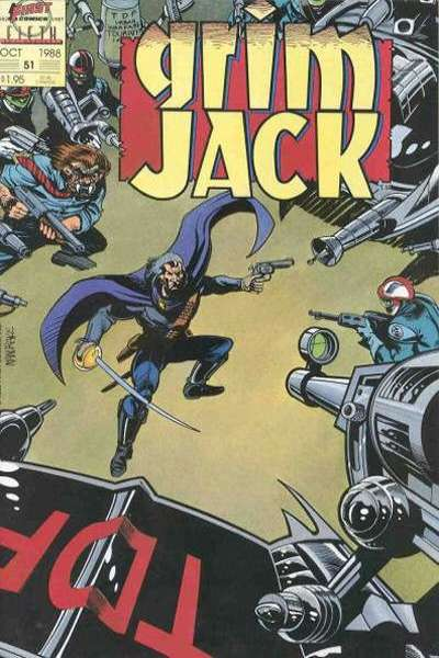 Grimjack #51 comic books - cover scans photos Grimjack #51 comic books - covers, picture gallery