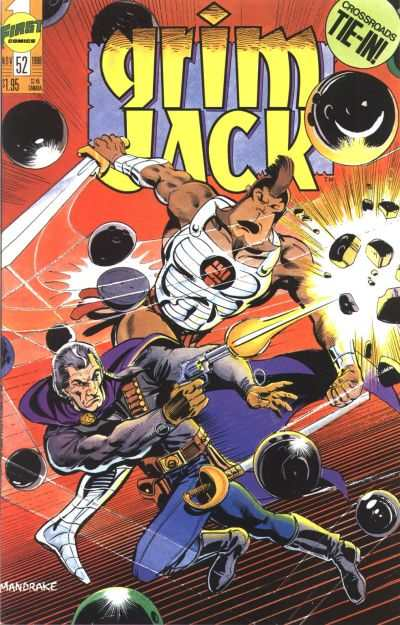 Grimjack #52 Comic Books - Covers, Scans, Photos  in Grimjack Comic Books - Covers, Scans, Gallery