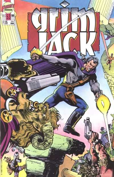 Grimjack #53 comic books - cover scans photos Grimjack #53 comic books - covers, picture gallery