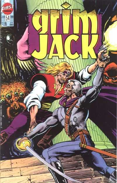 Grimjack #54 comic books - cover scans photos Grimjack #54 comic books - covers, picture gallery