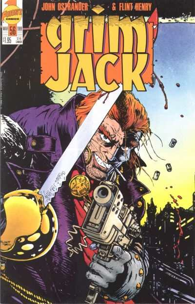 Grimjack #56 comic books - cover scans photos Grimjack #56 comic books - covers, picture gallery