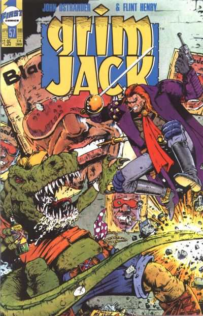 Grimjack #57 comic books - cover scans photos Grimjack #57 comic books - covers, picture gallery