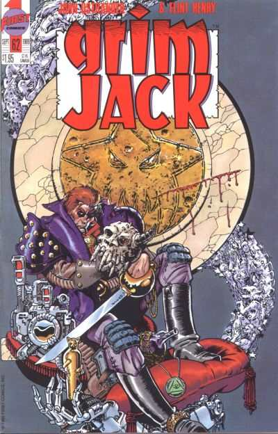Grimjack #62 comic books - cover scans photos Grimjack #62 comic books - covers, picture gallery