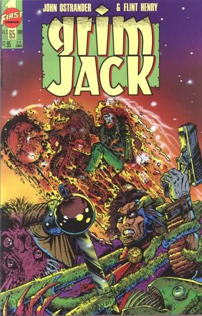 Grimjack #65 comic books - cover scans photos Grimjack #65 comic books - covers, picture gallery