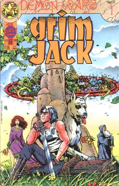 Grimjack #66 comic books - cover scans photos Grimjack #66 comic books - covers, picture gallery