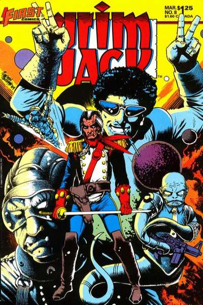 Grimjack #8 comic books for sale