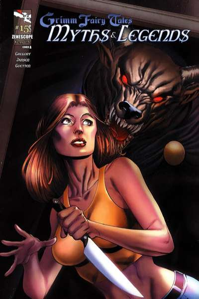 Grimm Fairy Tales: Myths & Legends #15 comic books for sale