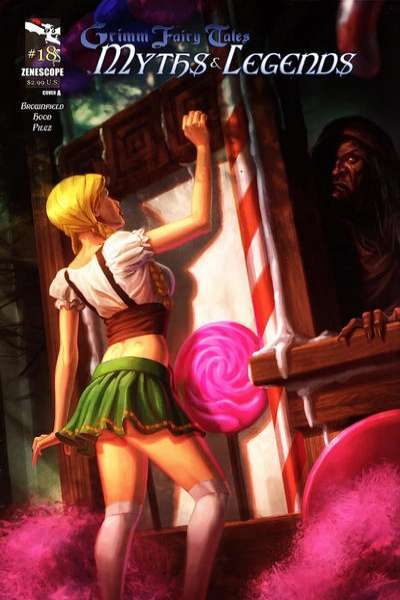 Grimm Fairy Tales: Myths & Legends #18 comic books for sale