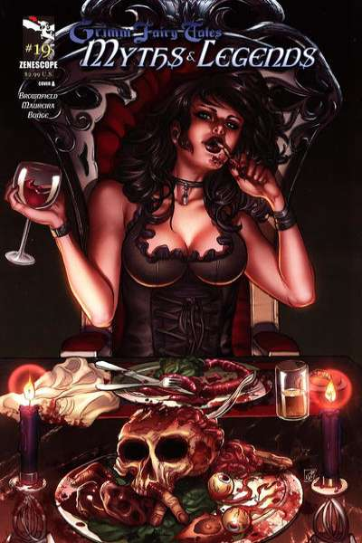 Grimm Fairy Tales: Myths & Legends #19 comic books for sale